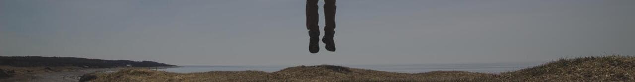 floating man