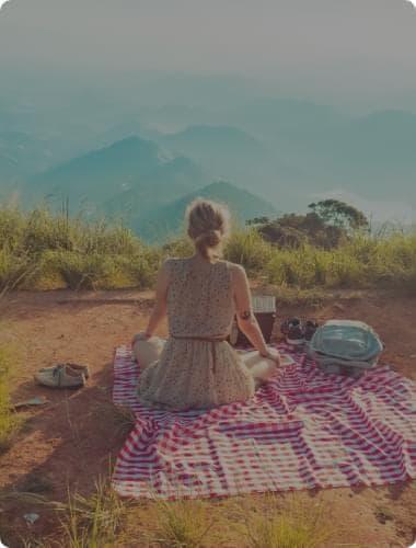 girl meditation