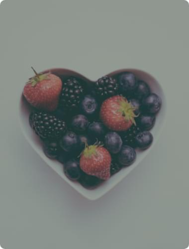 healthy fruit bowl
