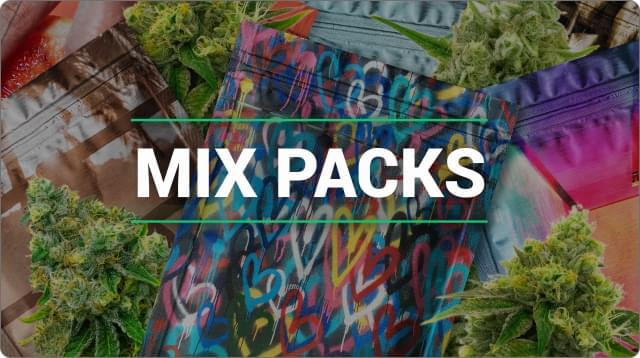 Mix packs marijuana strains
