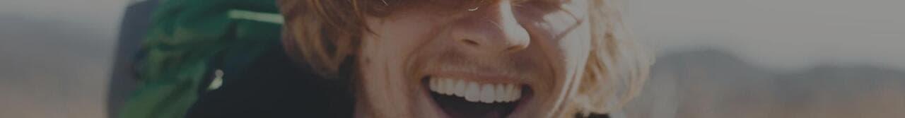 boy laughing